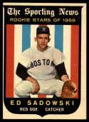 1959 Topps #139 Ed Sadowski EX Excellent RC Rookie