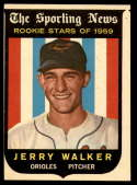1959 Topps #144 Jerry Walker VG/EX Very Good/Excellent