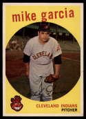 1959 Topps #516 Mike Garcia VG/EX Very Good/Excellent