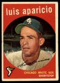 1959 Topps #310 Luis Aparicio VG Very Good