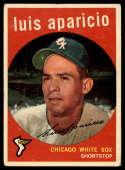 1959 Topps #310 Luis Aparicio VG/EX Very Good/Excellent