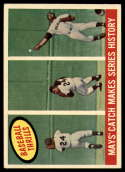 1959 Topps #464 Willie Mays Mays' Catch Makes Series History EX/NM