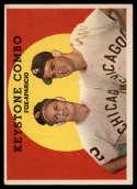 1959 Topps #408 Nellie Fox/Luis Aparicio Keystone Combo VG/EX Very Good/Excellent