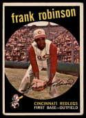 1959 Topps #435 Frank Robinson VG Very Good