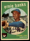 1959 Topps #350 Ernie Banks VG/EX Very Good/Excellent