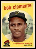 1959 Topps #478 Roberto Clemente EX Excellent