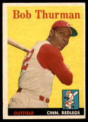 1958 Topps #34 Bob Thurman UER EX/NM