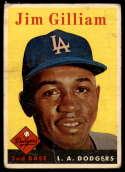 1958 Topps #215 Jim Gilliam G Good