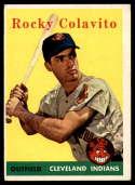1958 Topps #468 Bob Schmidt EX Excellent RC Rookie