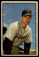 1953 Bowman Color #100 Bill Wight P Poor
