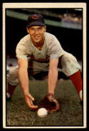 1953 Bowman Color #108 Bobby Adams VG/EX Very Good/Excellent