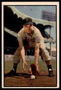 1953 Bowman Color #125 Fred Hatfield VG Very Good