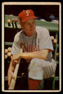 1953 Bowman Color #10 Richie Ashburn G/VG Good/Very Good