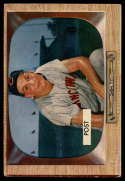 1955 Bowman #32 Wally Post  VG Very Good