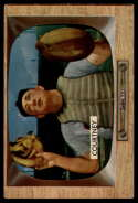 1955 Bowman #32 Wally Post VG/EX Very Good/Excellent