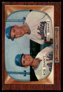 1955 Bowman #139 Bobby Shantz/Billy Shantz EX Excellent