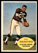 1960 Topps #26 Ray Renfro NM Near Mint