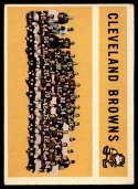 1960 Topps #31 Browns Team mark