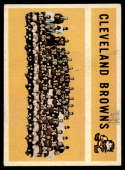 1960 Topps #31 Browns Team EX Excellent