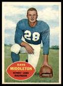 1960 Topps #43 Dave Middleton NM Near Mint