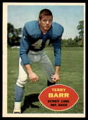 1960 Topps #47 Terry Barr VG/EX Very Good/Excellent