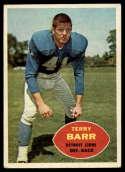1960 Topps #47 Terry Barr VG Very Good