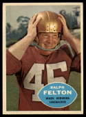 1960 Topps #129 Ralph Felton EX/NM RC Rookie
