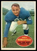 1960 Topps #81 Andy Robustelli EX/NM