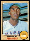 1968 Topps #410 Fergie Jenkins VG Very Good