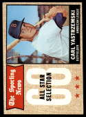 1968 Topps #369 Carl Yastrzemski AS EX Excellent