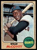 1968 Topps #290 Willie McCovey VG/EX Very Good/Excellent