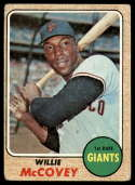 1968 Topps #290 Willie McCovey G Good