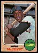 1968 Topps #290 Willie McCovey VG Very Good