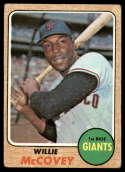 1968 Topps #290 Willie McCovey G/VG Good/Very Good