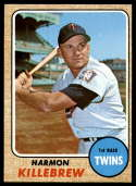 1968 Topps #220 Harmon Killebrew EX/NM