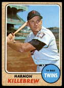 1968 Topps #220 Harmon Killebrew VG Very Good