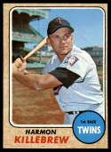 1968 Topps #220 Harmon Killebrew G Good