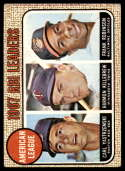 1968 Topps #4 Carl Yastrzemski/Harmon Killebrew/Frank Robinson A.L. RBI Leaders VG Very Good