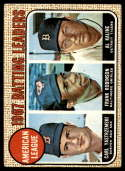 1968 Topps #2 Carl Yastrzemski/Frank Robinson/Al Kaline A.L. Batting Leaders VG/EX Very Good/Excellent