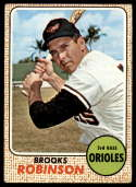 1968 Topps #20 Brooks Robinson VG/EX Very Good/Excellent
