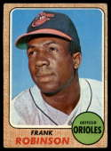 1968 Topps #500 Frank Robinson VG Very Good