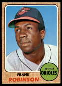 1968 Topps #500 Frank Robinson VG/EX Very Good/Excellent
