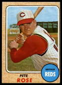 1968 Topps #230 Pete Rose G Good