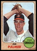 1968 Topps #575 Jim Palmer G/VG Good/Very Good