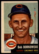 1953 Topps #7 Bob Borkowski DP VG Very Good