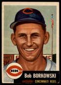1953 Topps #7 Bob Borkowski DP VG/EX Very Good/Excellent