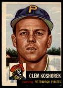 1953 Topps #8 Clem Koshorek DP VG/EX Very Good/Excellent