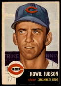 1953 Topps #12 Howie Judson DP VG/EX Very Good/Excellent