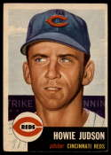 1953 Topps #12 Howie Judson DP EX Excellent