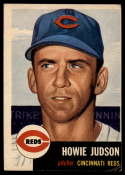 1953 Topps #12 Howie Judson DP VG Very Good
